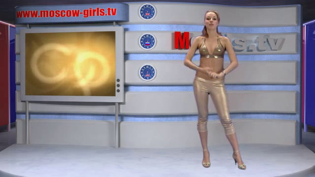 Moscow naked news